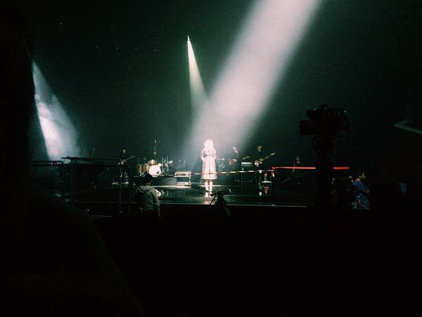 Adele, Cannes rehearsal