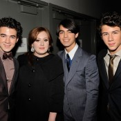 Lary Busacca, Jonas Brothers, 2009 Backstage at MusicCare